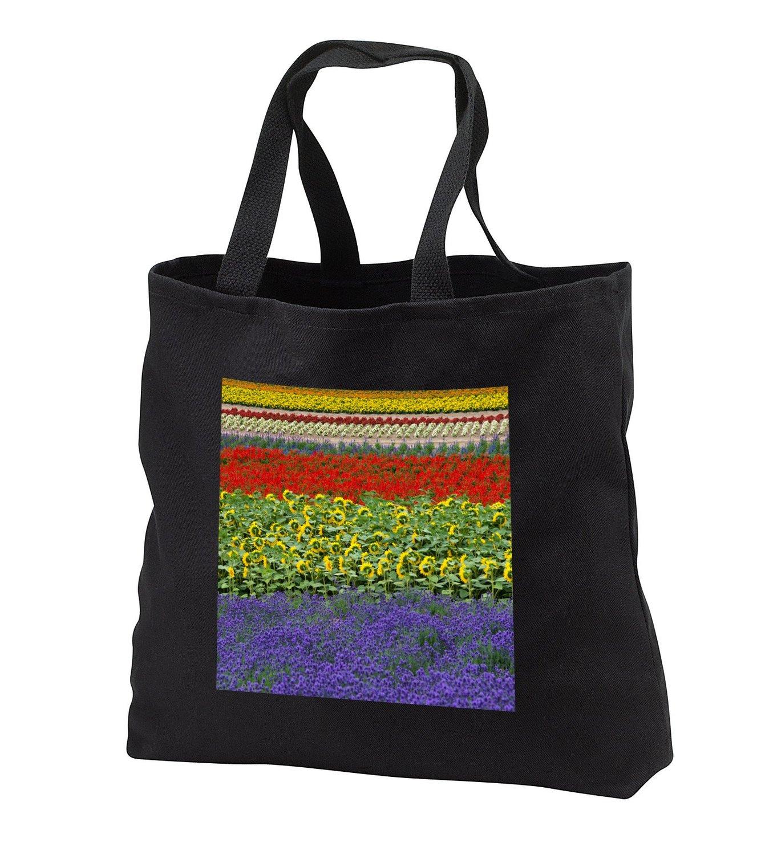 tb_225869 Danita Delimont - Agriculture - Lavender farm, Furano, Hokkaido, Japan - Tote Bags