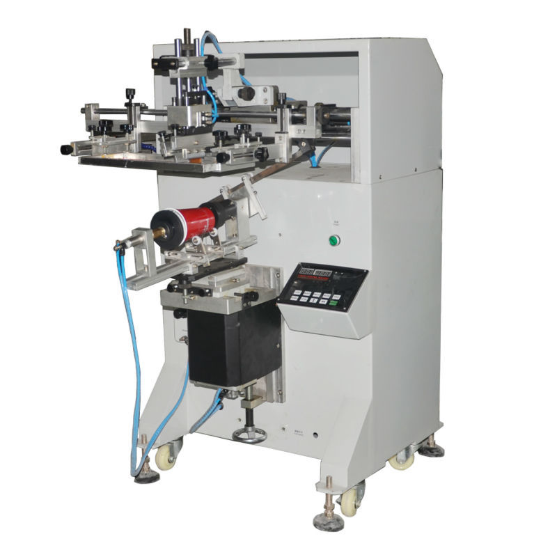 Hot sale screen printer screen printing machine for glass cups bottles