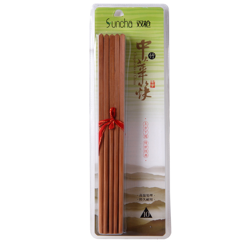 Spear authentic Japanese chopsticks creative suite upscale hotel household bamboo chopsticks China KZ1013 ten pairs of dress
