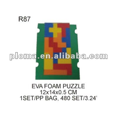 EDUCATIONAL TOY (R87) EVA FOAM PUZZLE
