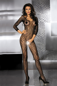 Sexy Lingerie Hot Women See Through Underware Erotic Sexy Body Suits For Women Stripe Prints Crotchless