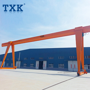 TXK Rail Mounted Small Mobile Gantry Crane