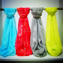 Bright Color Multiway Tie Dye Viscose Snood 2017 New Fashion Scarf trading inc