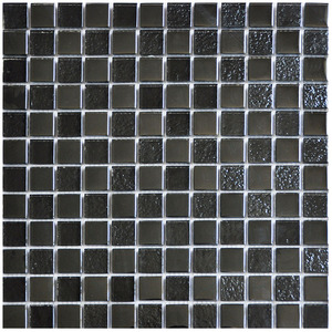 chinese blended blues glass mosaic for swimming pool tile