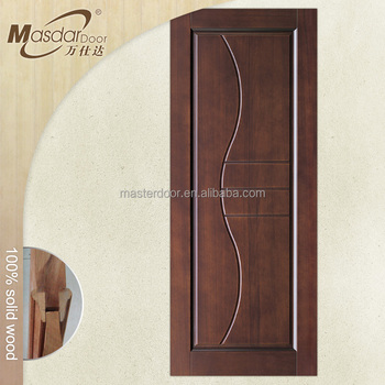 American 6 Panel Solid Wood Interior Doors With Frame