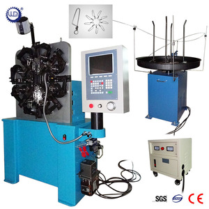 Multifunctional 3D CNC Wire Spring Forming Machine