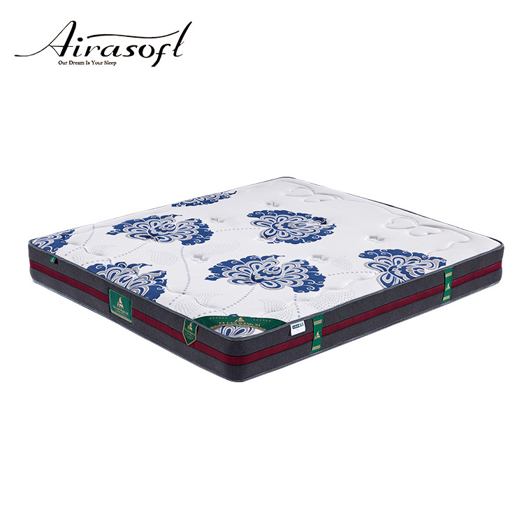 Roll Up Bed Foam Quilted Jacquard Double Camping Packed Mattress