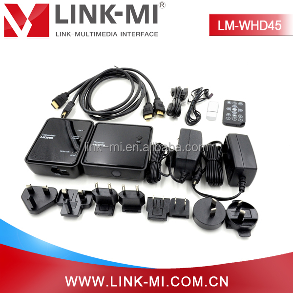 LINK-MI LM-WHD45 Short Range 45m WHDI Wireless HDMI Extender High Quality