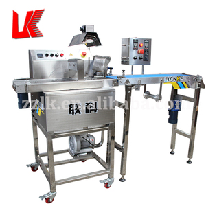 Frequency Conversion choco coated cake line moulding machines chocolate candy coating machine