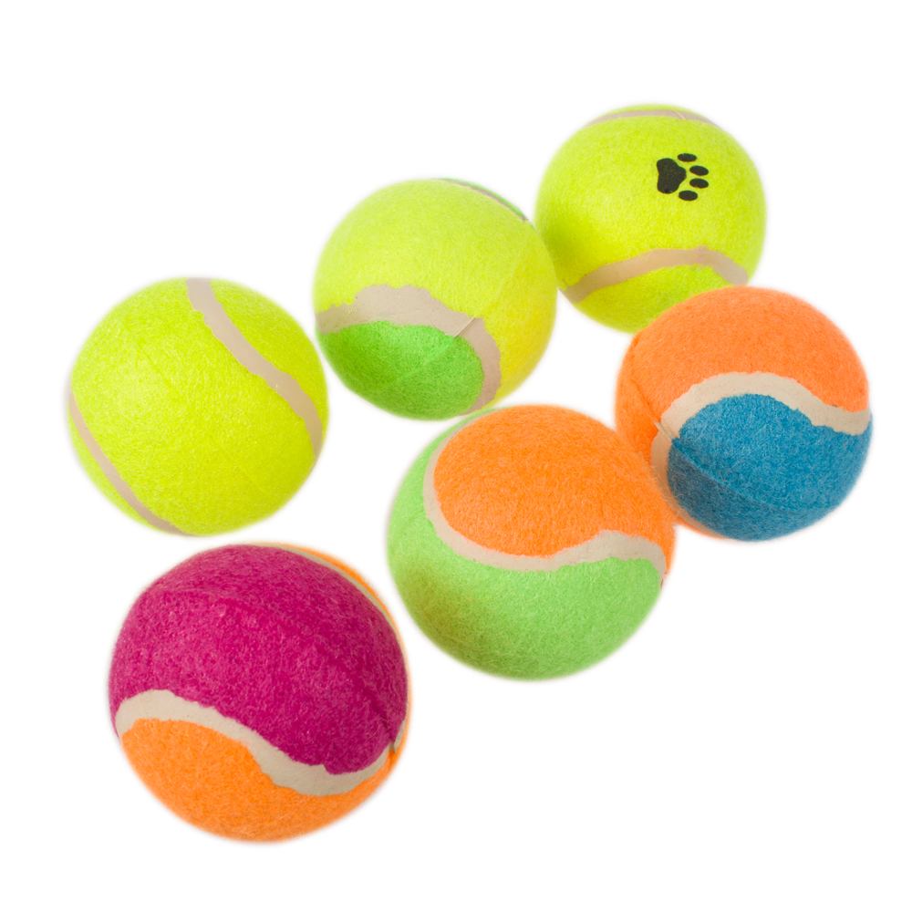 2018 Classic OEM Manufacturers Professional Wholesale Interactive Pet Dog Chew Toys Tennis Ball Dog Ball Imports From China