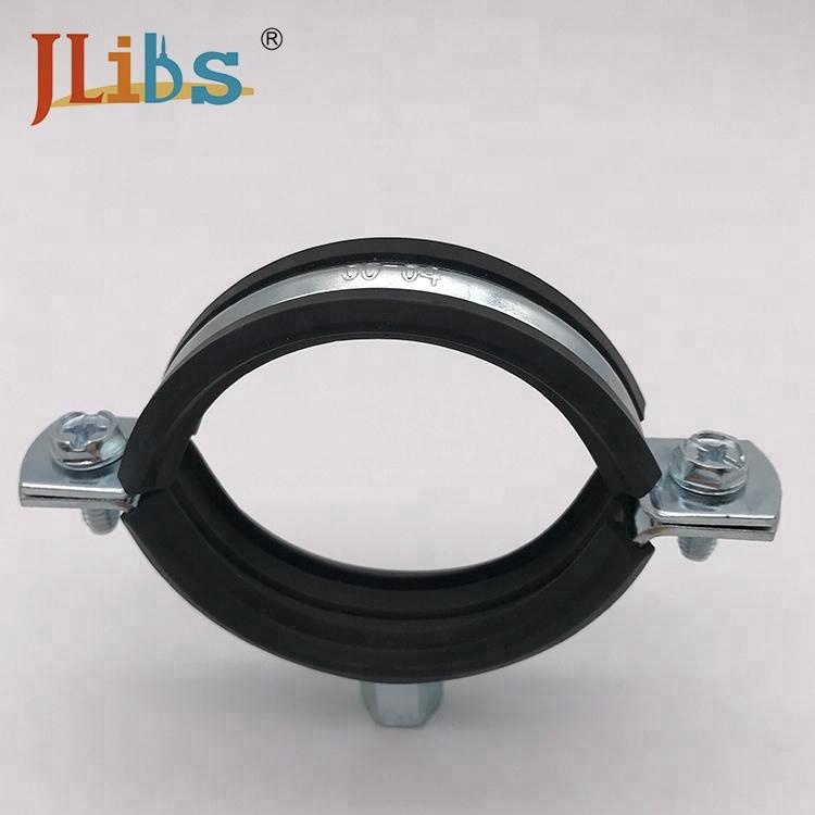 China Manufacturer wall mount galvanized telescopic pole clamp pipe clamp