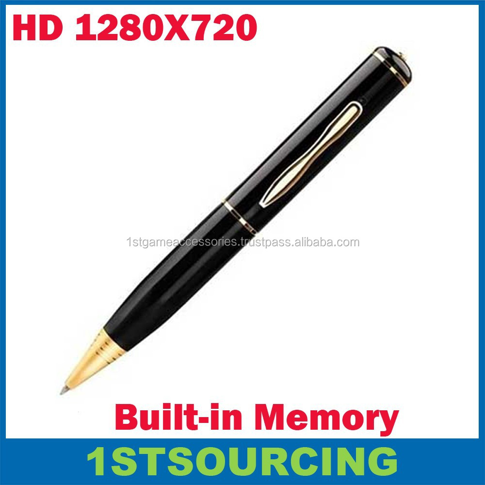 1280x720P Built in memory 4GB/8GB/16GB Mini Hidden Pen Camera