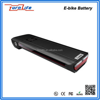 2017 Ultra thin e-bike lithium battery