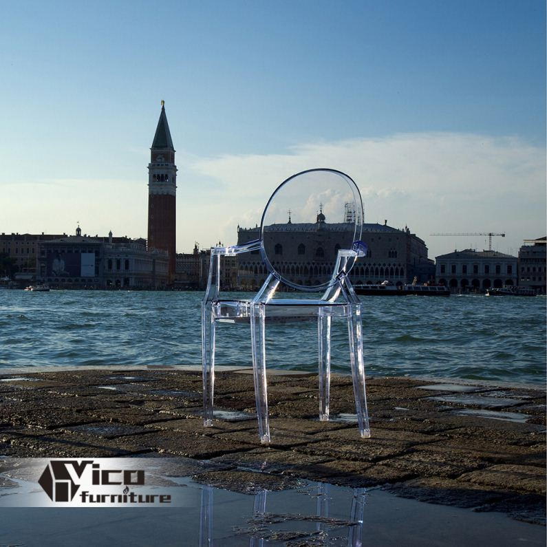manufacturer best price designed by famous desginer popular clear acrylic swivel chair