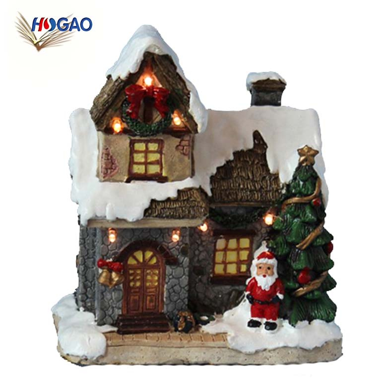 Oem Small Figurines Christmas Village Houses Resin - Buy Christmas Village  Houses Resin,Resin Christmas Figurines,Small Resin Figurines Product on