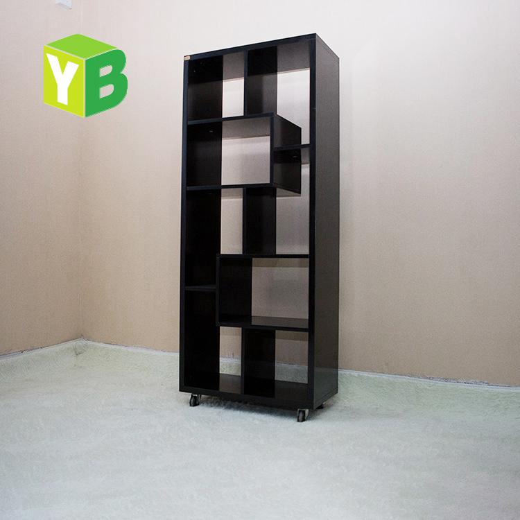 yibang milieu modern carb certificaat mdf lage moderne boekenkast met kast