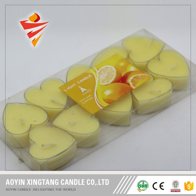 home decoration tealight type candle