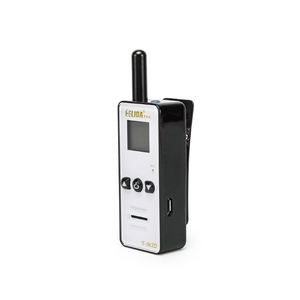 Mini Walkie Talkie with Texting HELIDA T-M2D 128 CH Two Way Radio FRS GMRS UHF 400-520MHz