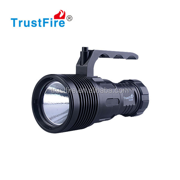 2016 New style!!! Trustfire 1600 Lumens Led diving flashlight using one CREE XHP70 , with 4* 18650 rechargeable Li-Ion battery.