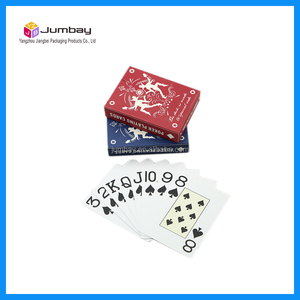 100 % plastic cards 100 % pvc play card poker card