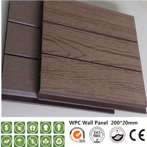 Wood Plastic Composite Outdoor Wpc Wall Panel ,fireproof Wpc Wall Cladding