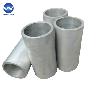 Extruded and seamless aluminum tube hollow aluminum pipe