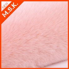 fake faux fur / faux rabbit fur fabric