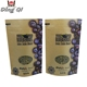 different size kraft paper coffee bag/kraft bag with window for tea/waterproof plastic lined paper plastic kraft bag with ov