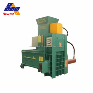 Best selling rice husk bagging press/hay grass extruder bailing machine/used cotton baler machine