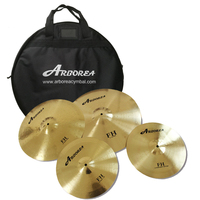FH series Brass cymbals, good practice cymbal set for drum