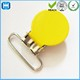 Factory Supply Yellow Round Metal Suspender Clips For Clothing From China