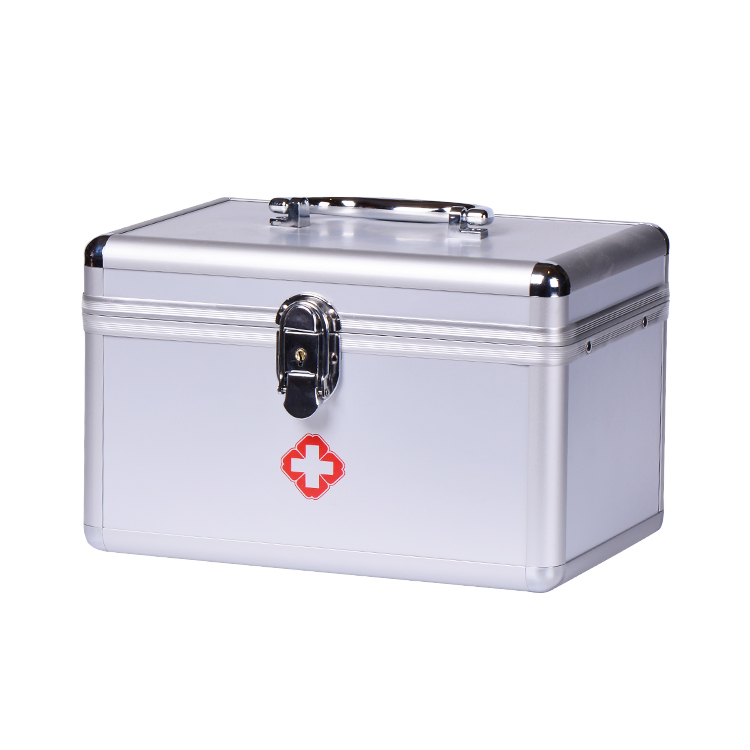 Made In Foshan Multifuctinal Medicine Storage Box, Portable China Medicine Cabinet, Aluminum First-Aid Case