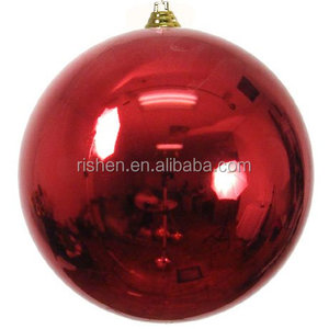 40cm Giant Outdoor Christmas ball,30cm glitter christmas ball ,christmas decoration tree ball