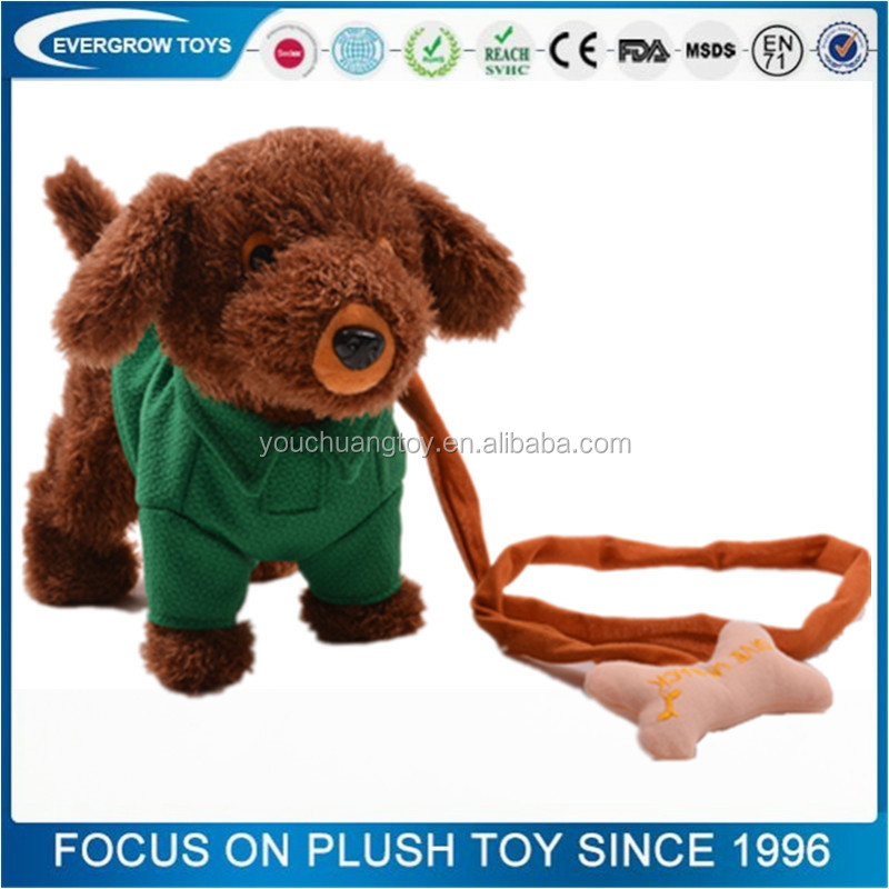 for kids electronic battery operated walking dog toy