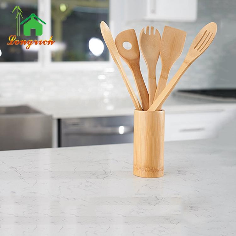 Bamboo Kitchen Utensils Sets 5 Cooking Tools Bamboo Spoon Spatula Turner -  Buy Spatula Wooden,Bamboo Spatula,Bamboo Kitchen Utensil Product on ...