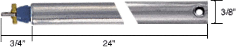 """24"""" Tubular Spiral Non-Tilt Window Balance Blue Bushing"""