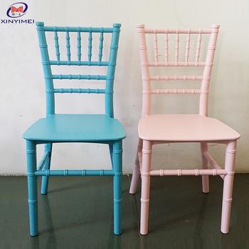 Populaire Colore Cadre En Metal Enfants Chiavari Chaise Buy Chaise