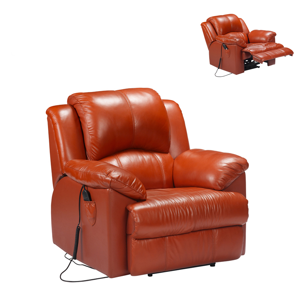 Vip Top Class Leather Home Theater Chairs Recliner Seating