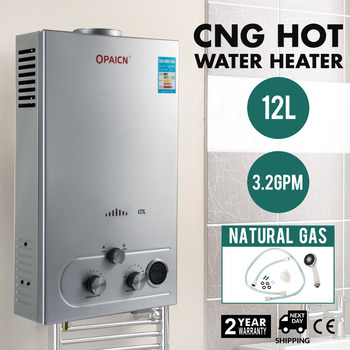 2018 Hot Sales 12l Cng Natural Gas Hot Water Heater Tankless Instant
