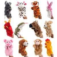 Cute Animal Telling Story Hand Puppet Plush Toy Finger Puppet For Kids and Adults