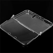 NEW One-piece Hard Plastic Crystal Clear Case Shell Skin for Nintendo New 3DS XL