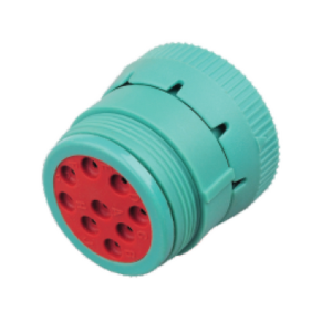9 holes female socket housing Deutsch round connector HD16-9-1939S-P080
