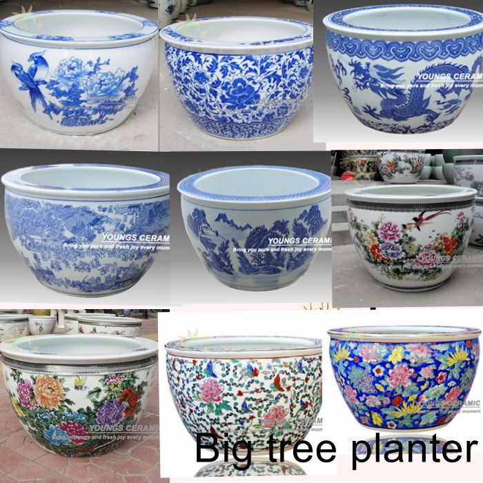 Large Size Chinese Ceramic Garden Flower Plant Pots Wholesale - Buy Flower  Pots,Garden Flower Pots,Plant Pots Product on Alibaba com