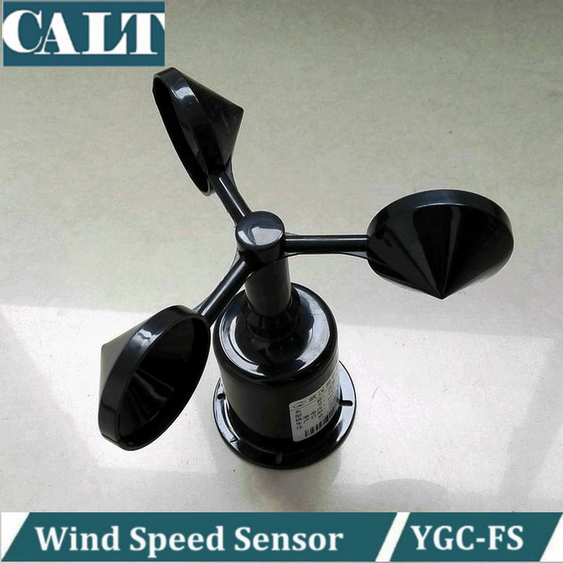 small size 5V dc anemometer pulse output wind speed sensor