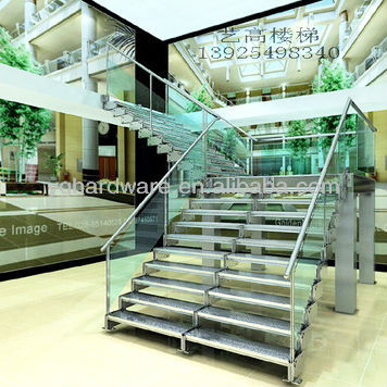 Ready Made Contemporary Staircase Yg 9004 4   Buy Indoor Staircase  Design,Glass Treads Staircase,Modern Staircase Design Product On Alibaba.com