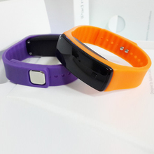 Beichong brand sillicone led bracelet watch as customize watch touch led watch