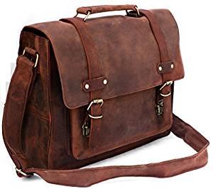 """SUPER SALE "" 15' FeatherTouch Leather Messenger Bag Mens Leather Briefcase Women Messenger Satchel Laptop Bag Macbook Bag Travel Case"