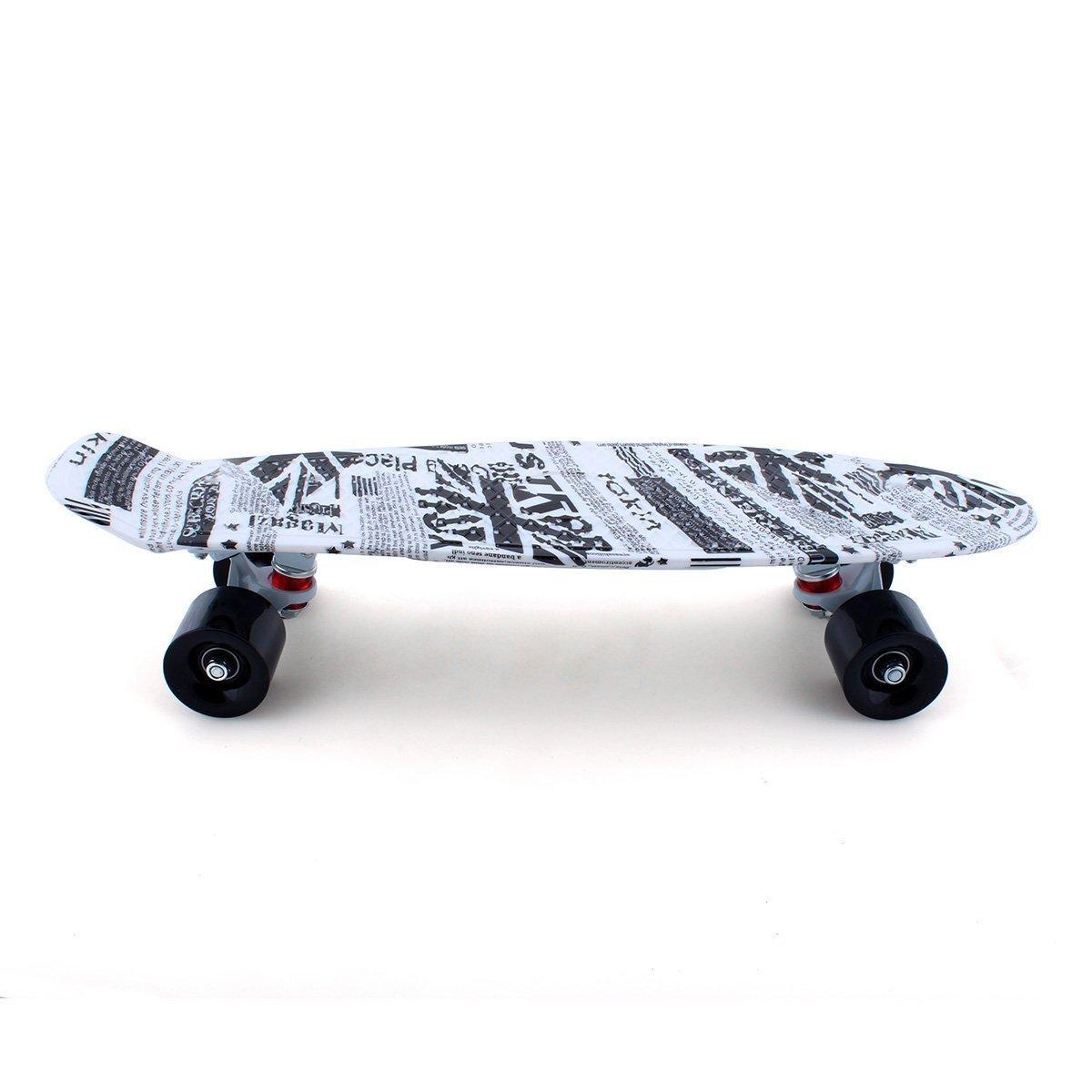 "Skateboards skateboards for kids Mini Board Complete 22"" Retro Skateboards New For Penny Style Plastic skateboards skateboards for boys/girls New Spaper"
