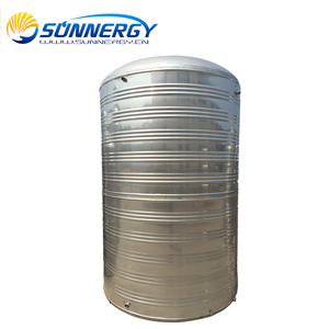 Pressurized Solar Water Tank with Twin Coils 2000 Liter Water Tank Price