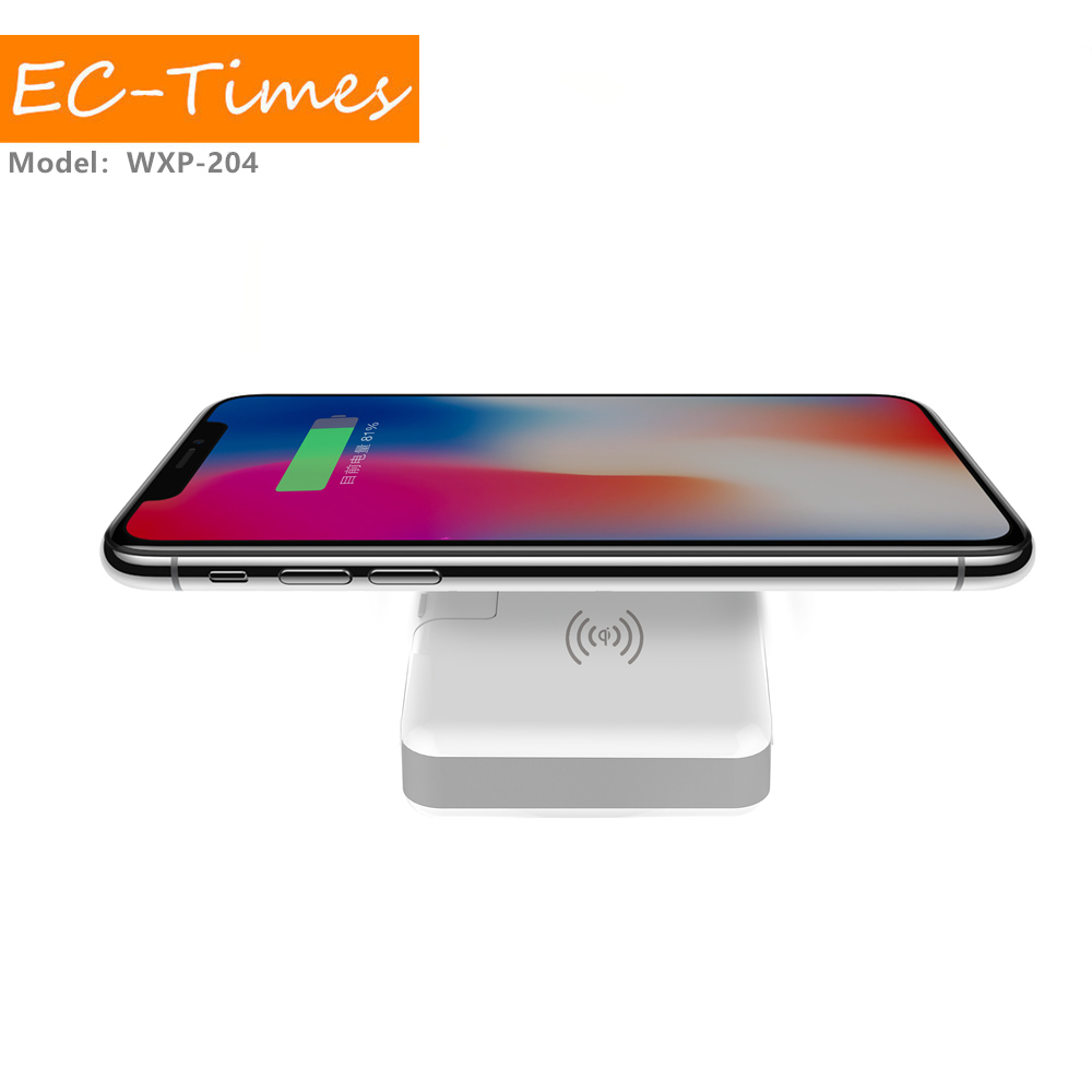 New Type Wireless Charger Module 3 In 1 Wireless Power Bank Travel Charger for iPhone
